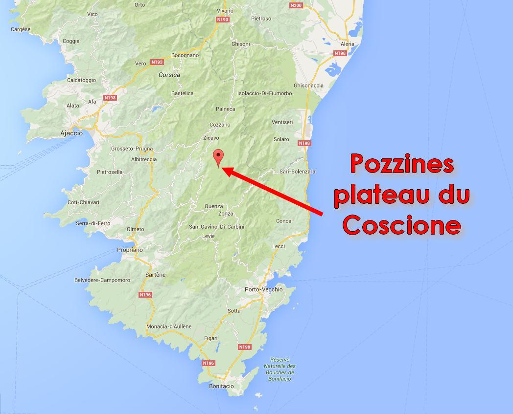 Randonnee Plateau Du Coscione Quot Cuscionu Quot Olmuccio H 244 Tel